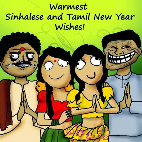 Me Gusta Funnies Happy New Year 2014: Christian-Post-moonsms: Happy Sinhala & Puthandu Tamil New