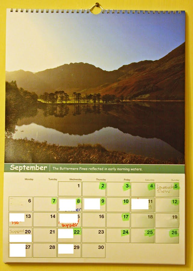 End Of Year Calendar : The view from bag end of year calendar review