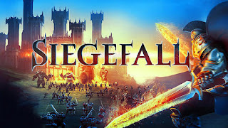 Screenshots of the Siegefall for Android tablet, phone.