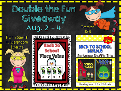 Fern Smith's Classroom Ideas Double the Fun Dynamic Duo