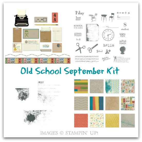 Stampin' Up! Old School September Kit - Digital Download