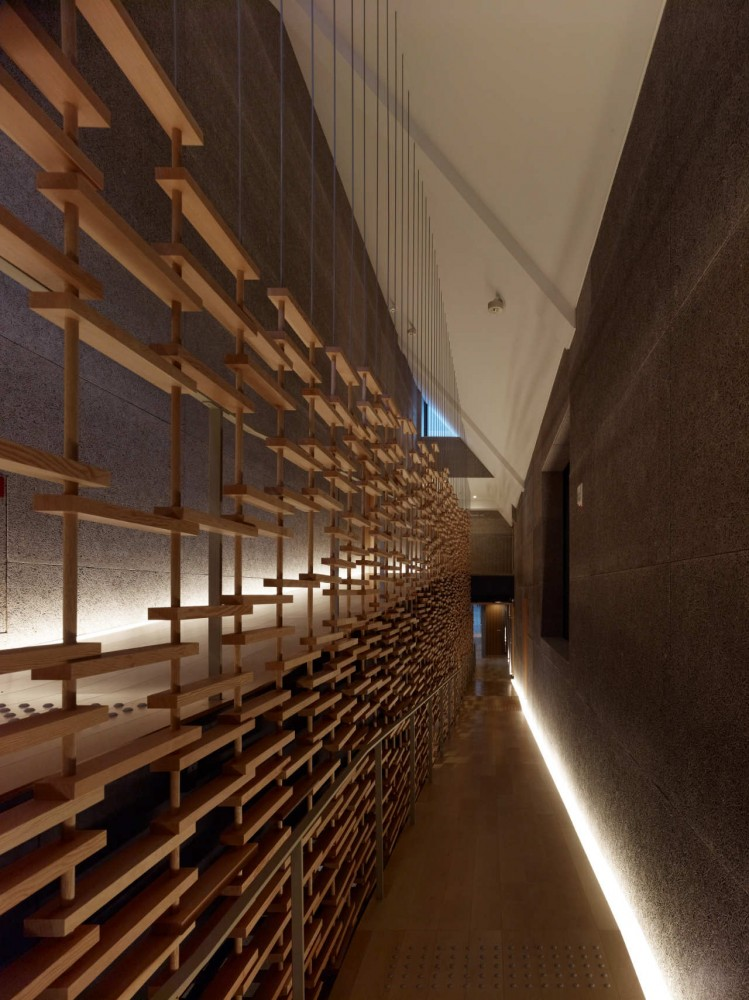 Interior architecture sources resources kengo kuma Wooden interior