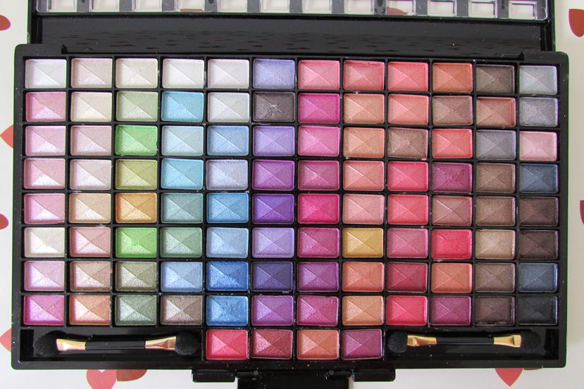 Resenha, Paleta de Sombras 3D, Glamourosa, Fenzza, maquiagem
