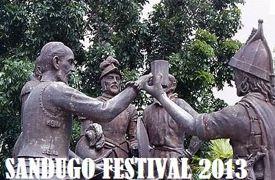 Bohol sandugo festival 2013 the backpack man for Jardin necitas