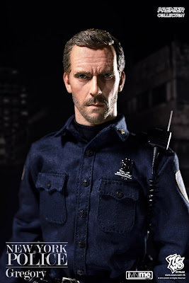 "ZC World 1/6 scale NYPD ""Gregory"" figure"