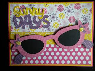 Cricut, Paisley Cartridge, Create-A-Critter Cartridge, Stickles, Recollections Paper, Summer Card