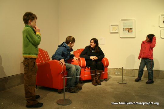 Armchairs made of fat, Wasted Project Gina Czarnecki