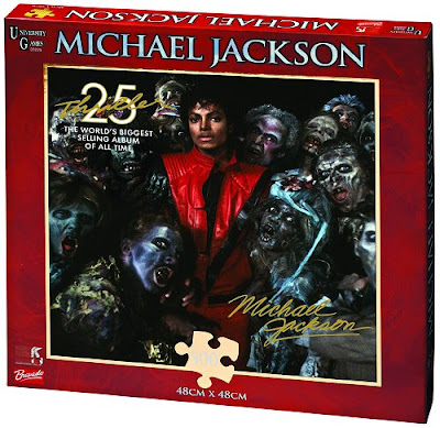 Puzzles de Michael Jackson- novos lançamentos Puzzlethriller