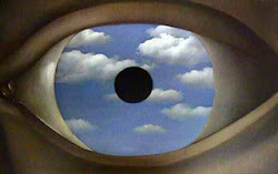 'The False Mirror' by Rene Magritte