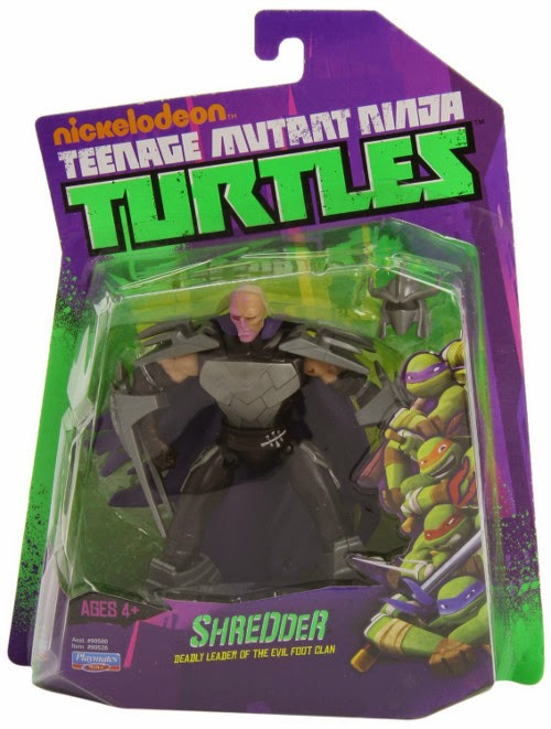 TOYS : JUGUETES - TORTUGAS NINJA Shredder #2 Desenmarcarado : Muñeco | Figura Teenage Mutant Ninja Turtle Unmasked Shredder#2  Action Figure | Producto Oficial | A partir de 4 años