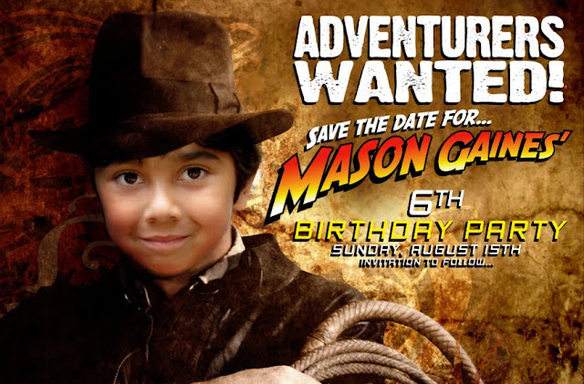 Indiana Jones Birthday Party