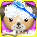 Pet Spa & Salon - Kids Games App iTunes App Icon Logo By George CL - FreeApps.ws