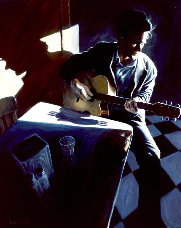 Mark Keller | American Figurative painter
