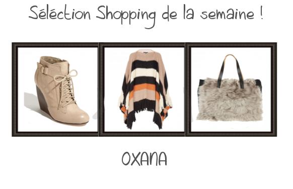 Sélection Shopping de la semaine