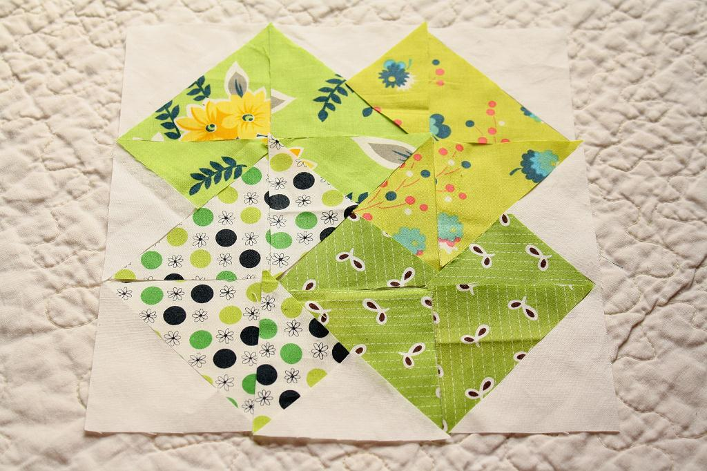 Quilting Pattern Card Trick Block : Why Not Sew?: Hand Pieced Quilt-A-Long Block #7 Card Trick