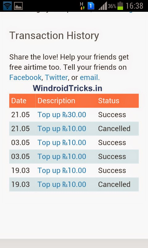 Earn free recharges by downloading Android Apps