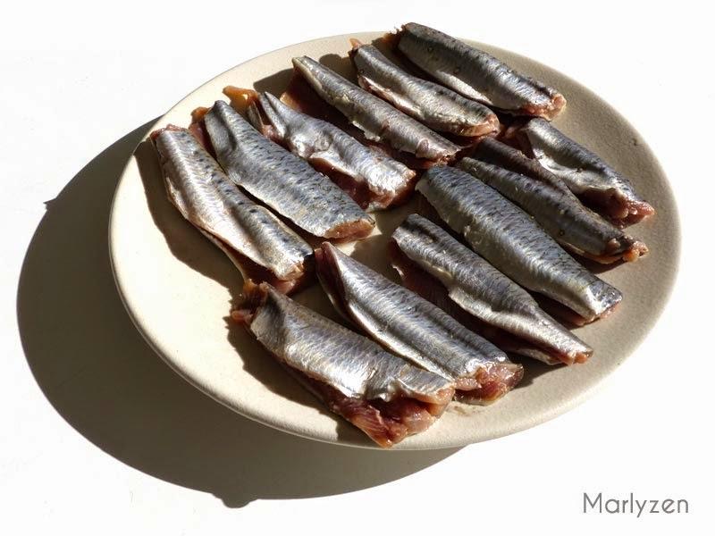 Filets de sardines