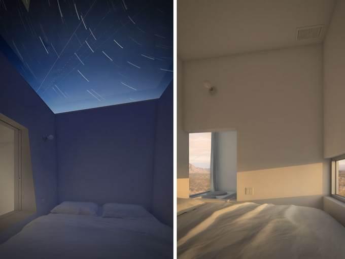 bilik tidur dalam menara