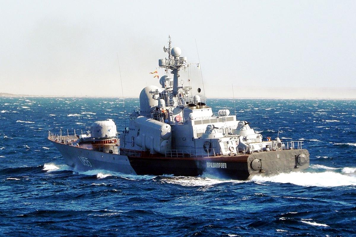 Molniya Class Corvette Ship 4
