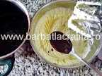 Prajitura cu cocos si nuca preparare reteta crema la bain-marie