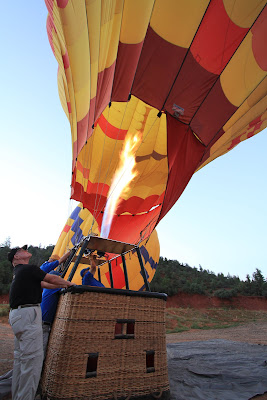 2012 Getting the Balloon Upright