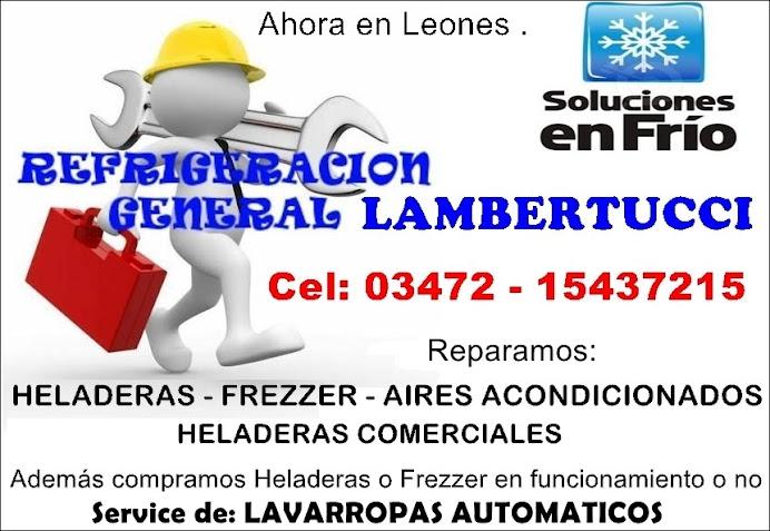ESPACIO PUBLICITARIO: REFRIGERACIÓN LAMBERTUCCI