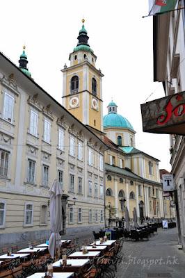 斯洛文尼亞, 盧比安娜, Ljubljana, 舊廣場, Stari Trg, 上廣場, Gornji Trg