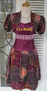 Gaun Pesta Batik