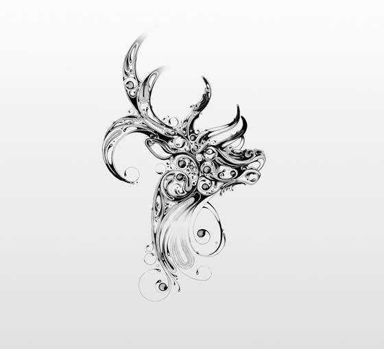Desenhos em preto e branco de Si Scott - 06