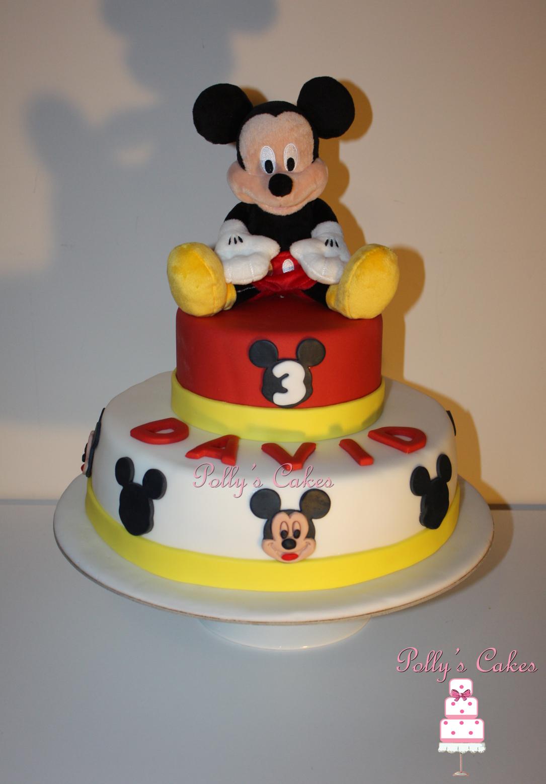 Как сделать микки маус торт фото