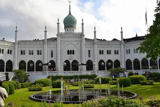 Tivoli's Moorish Palace, the Nimb Hotel and Restaura