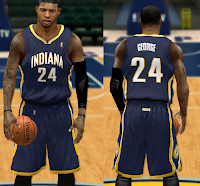 NBA 2K14 Indiana Pacers Jersey Mod Pack