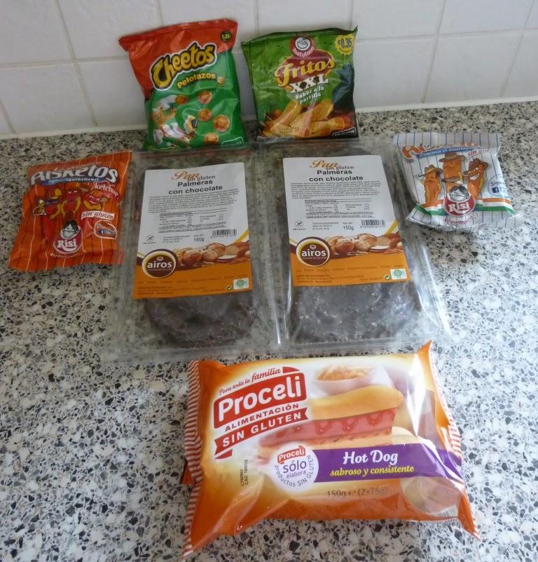 Gluten Free 'Sin Gluten' products from Spain