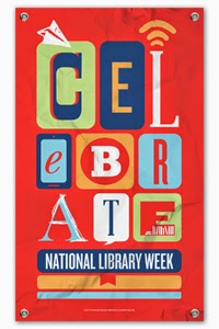 celebrate national library week banner