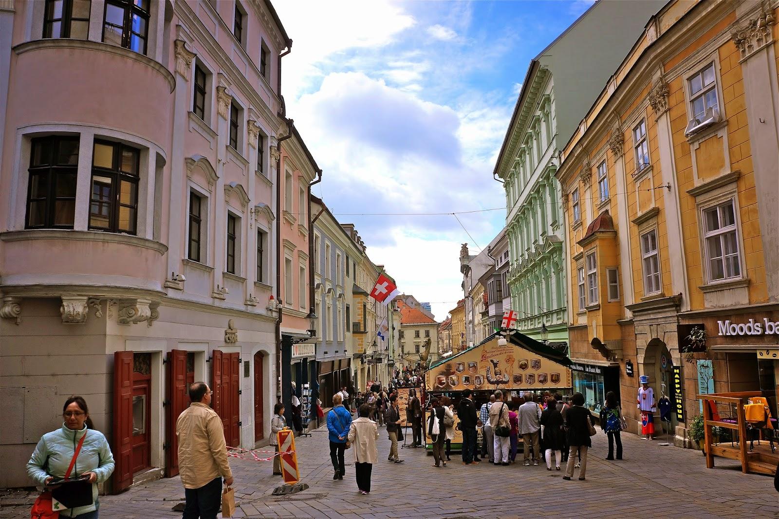 Picture from Bratislava, Slovakia.