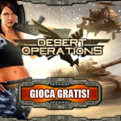 Desert Operation il nuovo gioco di strategia online gratis