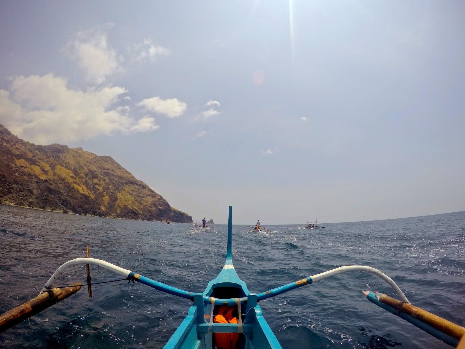 Boat ride in Zambales