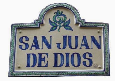 Las huellas de San Juan de Dios