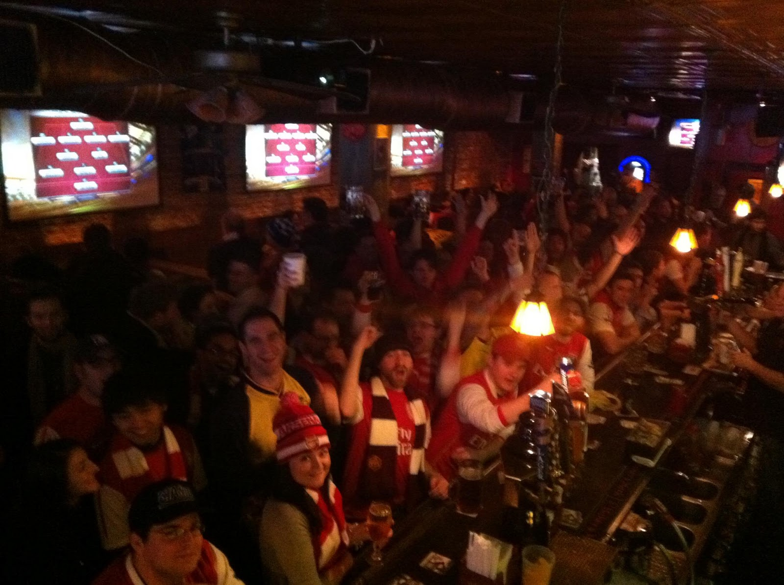 Blind Pig NYC - packed to the