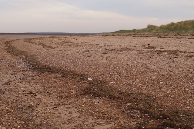 Brancaster beach empty, North Norfolk coast