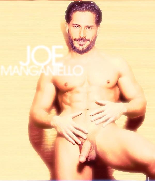 Fakes Joe Manganiello