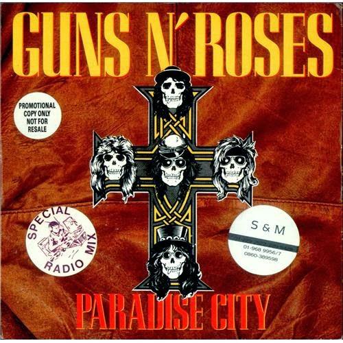 Chord Gitar Radja Jujurlah: Chord Gitar Gun N Roses - Paradise City