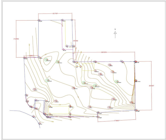 Situasi Contour dan Site Plan Survey Pengukuran Topografi 4