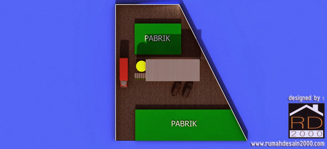 Layout tempat parkir
