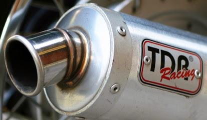 Brosur Daftar Harga Knalpot Motor TDR Terbaru 2014