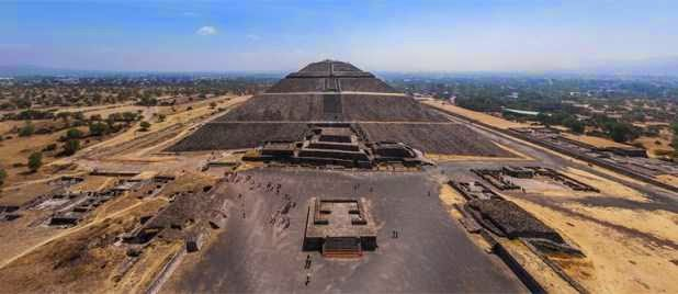 The Ancient Citadel Of Teotihuacan, Built By Giants That Came From Above