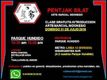 Clase Gratuita Introduccion a Arte Marcial Indonesio Domingo 31 de Julio 2016