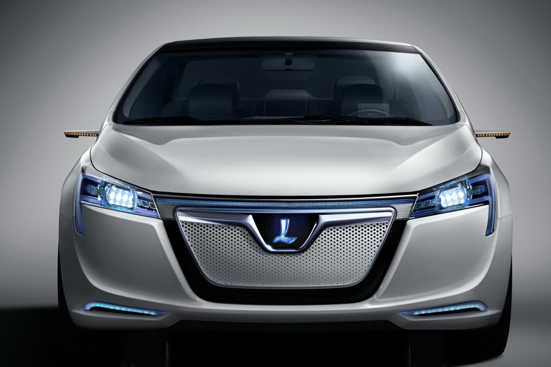 luxgen 39 s neora ev sedan concept unveiled shanghai auto. Black Bedroom Furniture Sets. Home Design Ideas