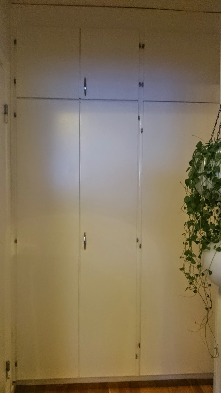 Släng dig i väggen, Ernst!: Måla garderobsdörrar, del 2