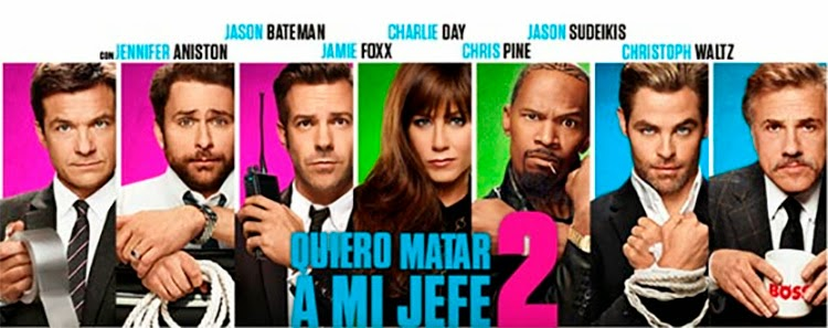 Quiero Matar a Mi Jefe 2 (2014) WEB-DL 720p Latino-Ingles